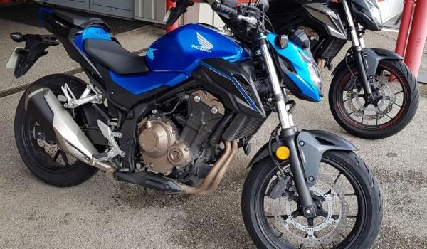 HONDA CB500F 2018 ABS A2 10215 kms