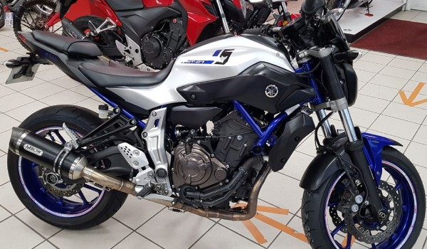 YAMAHA MT-07 BRIDABLE A2   ABS
